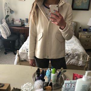 Zara Cream Spring Jacket